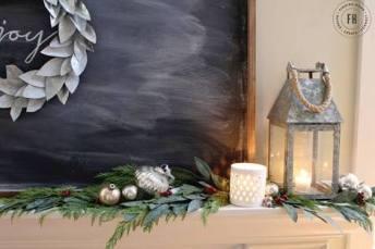 festive (and free) greenery